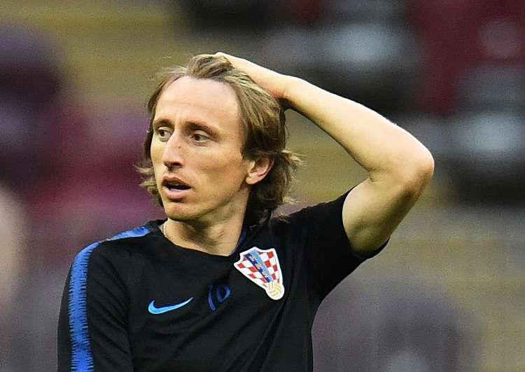 Luka Modric, centrocampista del Real Madrid. Foto: EFE