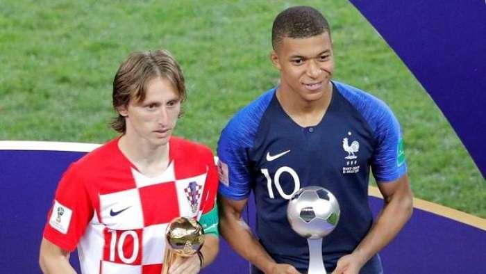Luka Modric ganó el Balón de Oro del pasado mundial Rusia 2018./EFE