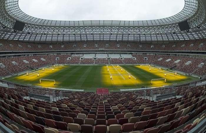 Luzhniki Stadium, donde se jugará el partido inaugural del Mundial Rusia 2018./AP