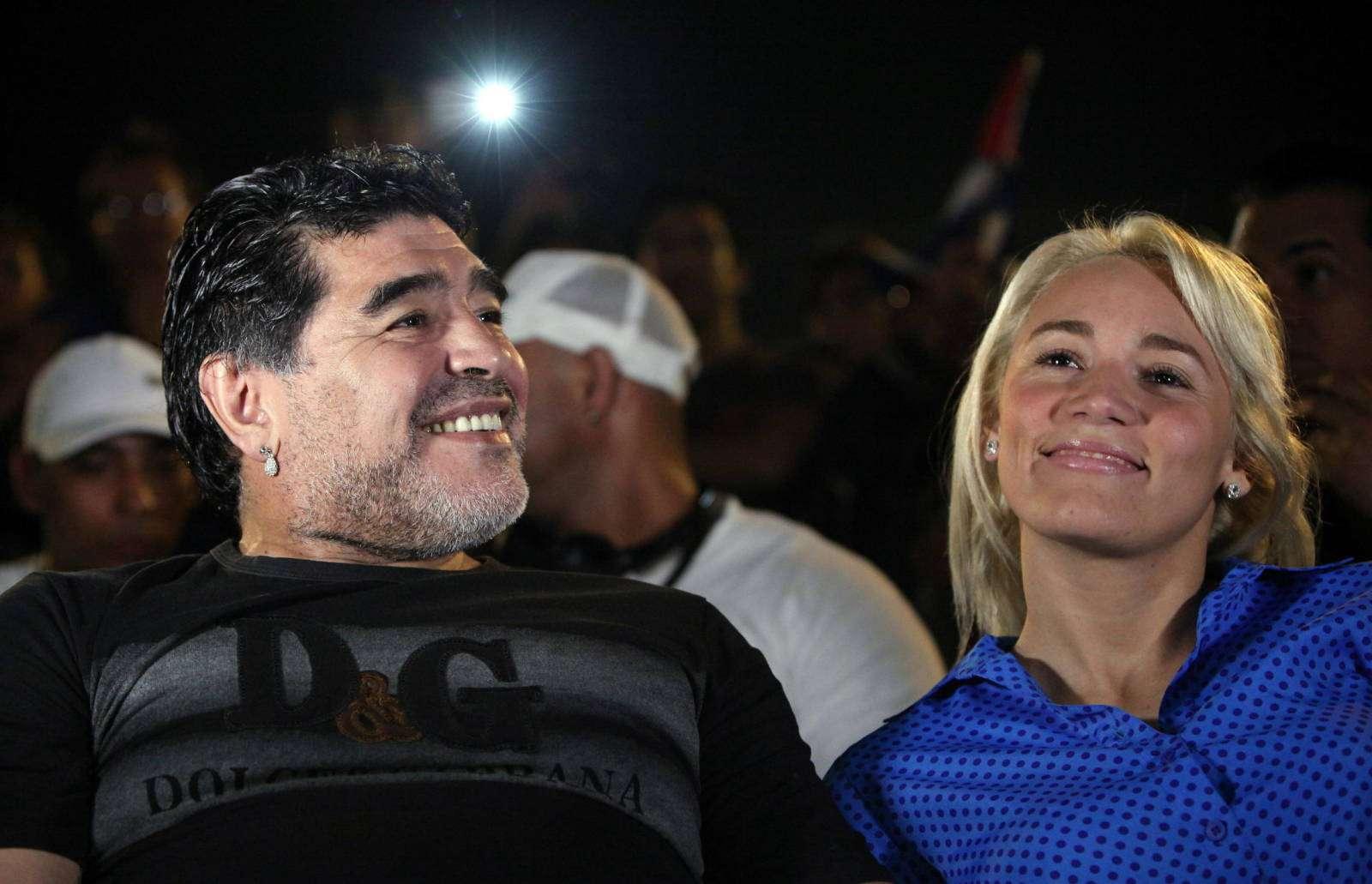 Diego Armando Maradona, ídolo del fútbol argentino./ Foto EFE
