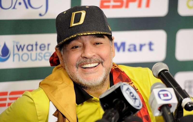 Diego Armando Maradona. / Foto EFE