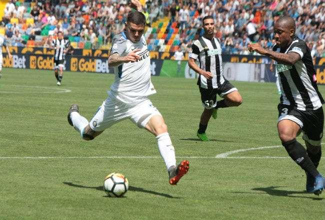 Mauro Icardi ha tenido una buena temporada con el Inter, en la Serie A de Italia.