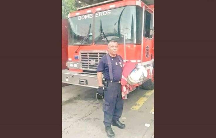 Mayor Julio Alberto Rivera, del Benemérito Cuerpo de Bomberos de Panamá.