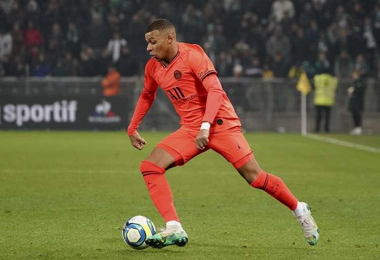 Kylian Mbappe, jugador del París Saint-Germain. Foto: AP