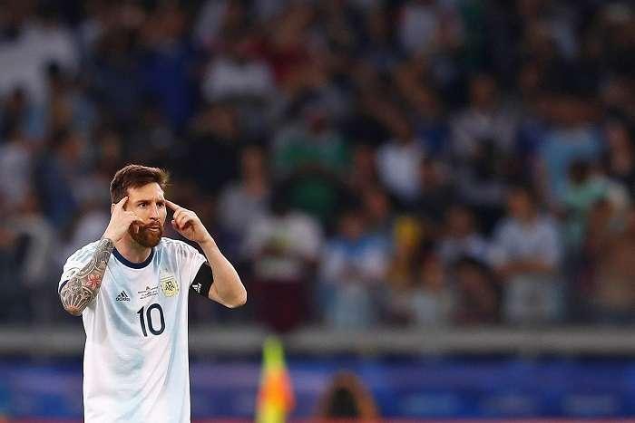 Lionel Messi, capitán de la Albiceleste. /AP