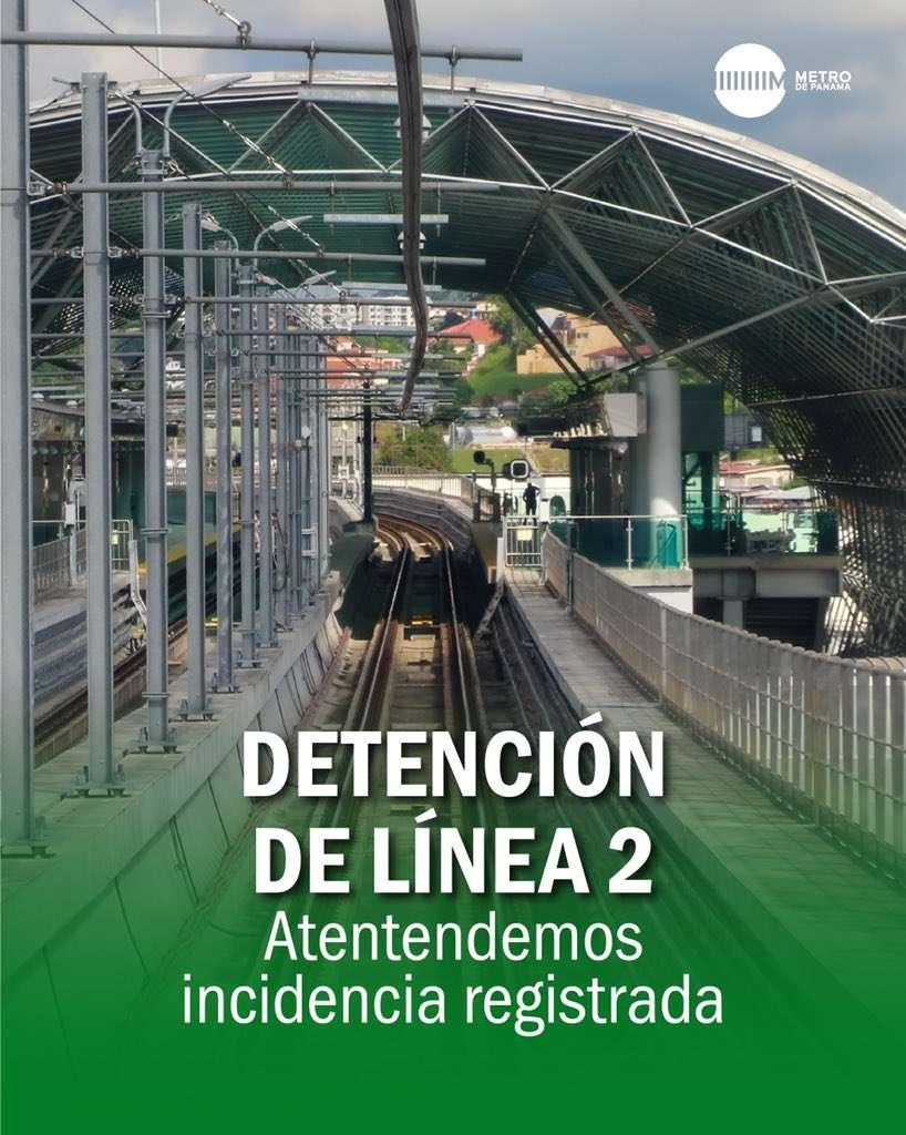 Linea 2 detenida