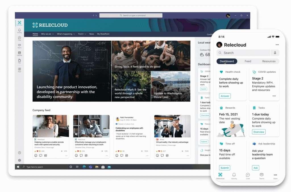 Viva, la plataforma de Microsoft para el home office: incluye una especie de Wikipedia con IA para organizar automáticamente la experiencia y contenido de la compañía en categorías