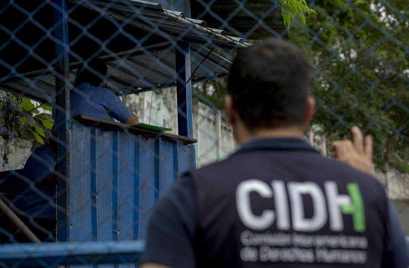 En la imagen, un miembro de la Comisión Interamericana de Derechos Humanos (CIDH). EFEArchivo
