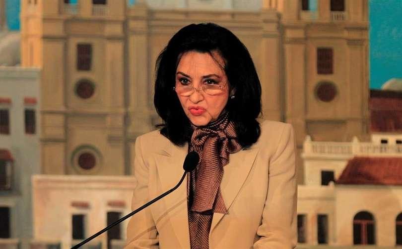 En la imagen la ministra de relaciones exteriores de Colombia, Claudia Blum. EFE