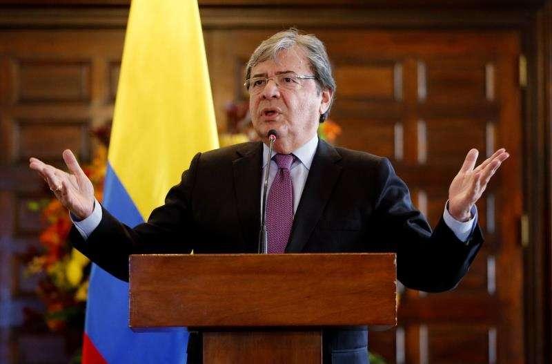 El ministro de Relaciones Exteriores de Colombia, Carlos Holmes Trujillo. EFEArchivo