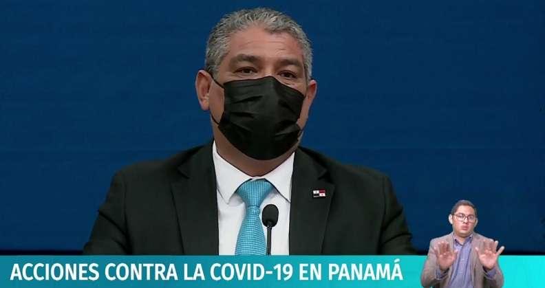 Ministro de Salud, Luis Francisco Sucre.