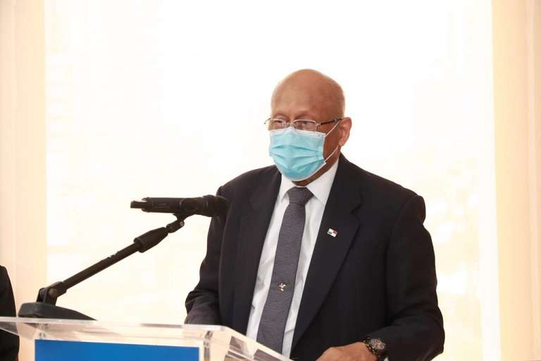 Ministro del Mef,  Héctor Alexander.