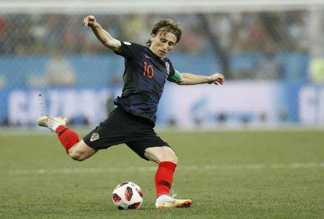 Luka Modric es considera uno de los mejores volantes del mundo.