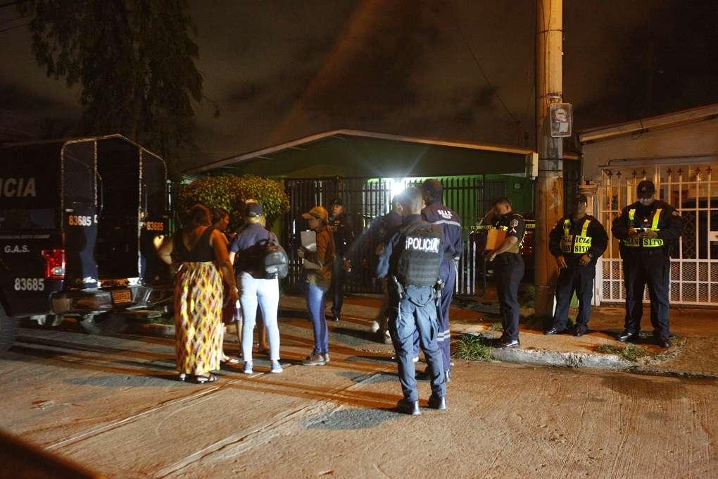 Vista general de la escena del accidente. Foto: Alexander Santamaría