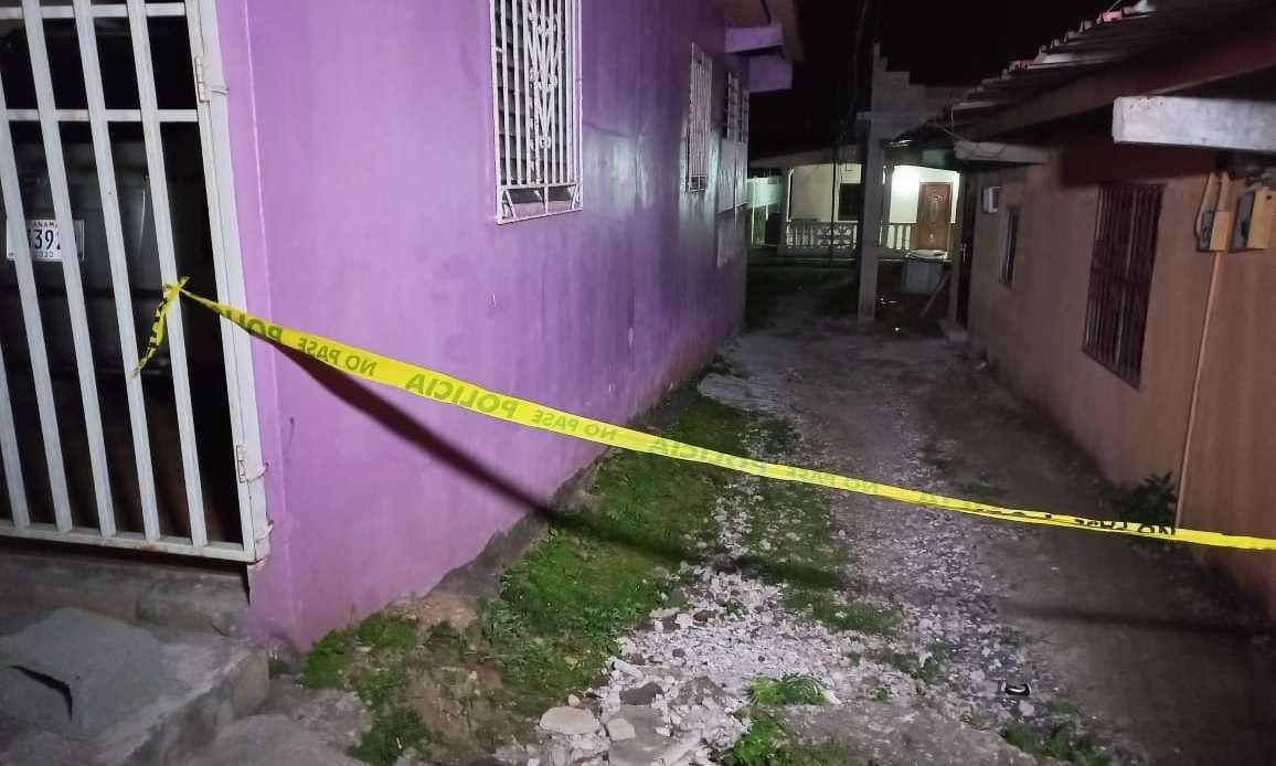 Escena del crimen.   (Foto: D. Sánchez)