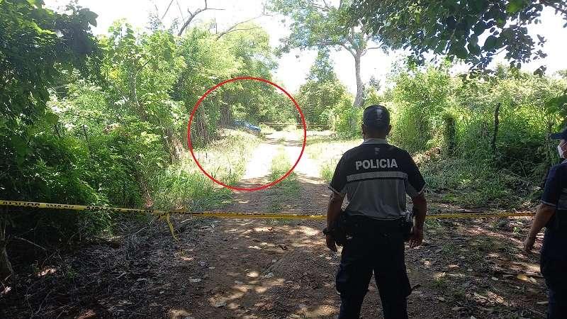 Unidades policiales que realizaban una ronda preventiva encontraron el cadáver.