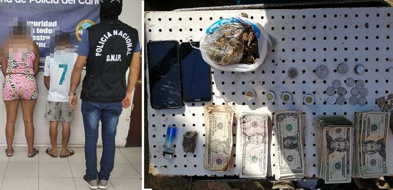La pareja será procesada por delitos relacionados con droga.