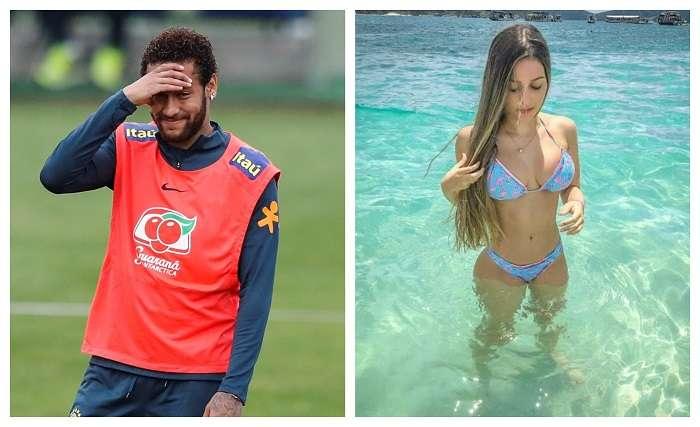 Neymar Jr. y su supuesta víctima./ Archivo