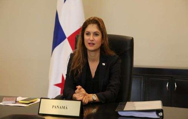 Nueva canciller de Panamá, Erika Mouynes.