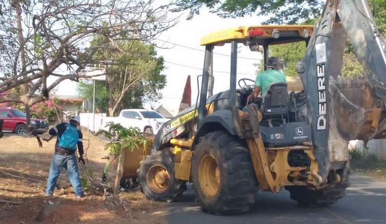 El operativo se concentró en el sector conocido como Rayo de Luz, en el corregimiento de Chitré cabecera.