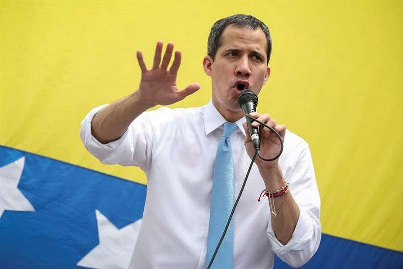 En el imagen, el líder opositor venezolano Juan Guaidó. EFE