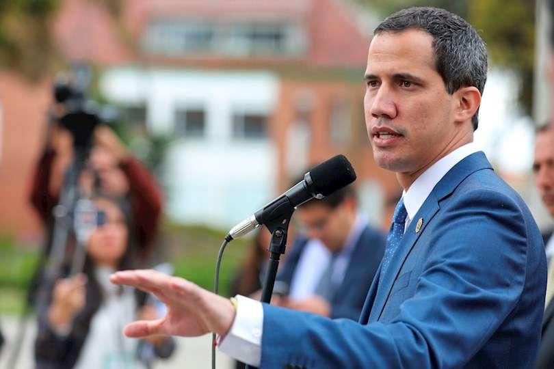 El líder opositor venezolano Juan Guaidó, en una fotografía de archivo. EFE
