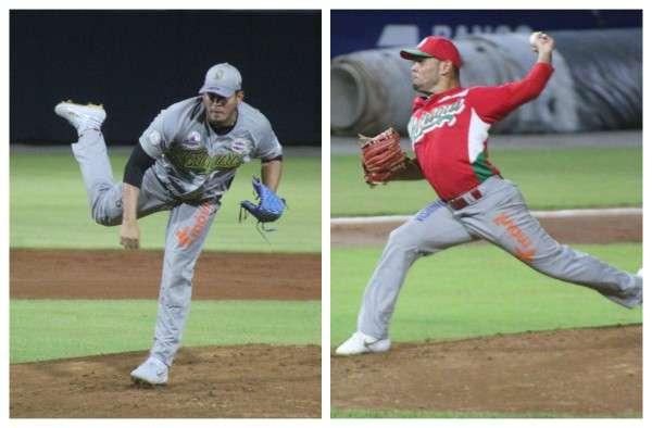 Luis Machuca (izq.) y Andy Otero estuvieron dominantes en el partido pero se fueron sin decisión. Foto: Fedebeis