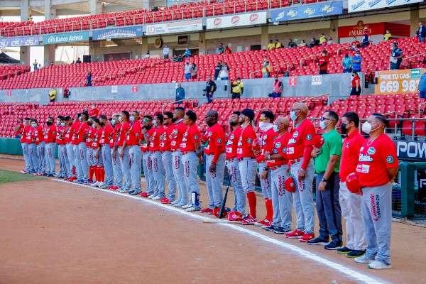 El equipo de Panamá, representado por los Federales de Chiriquí.