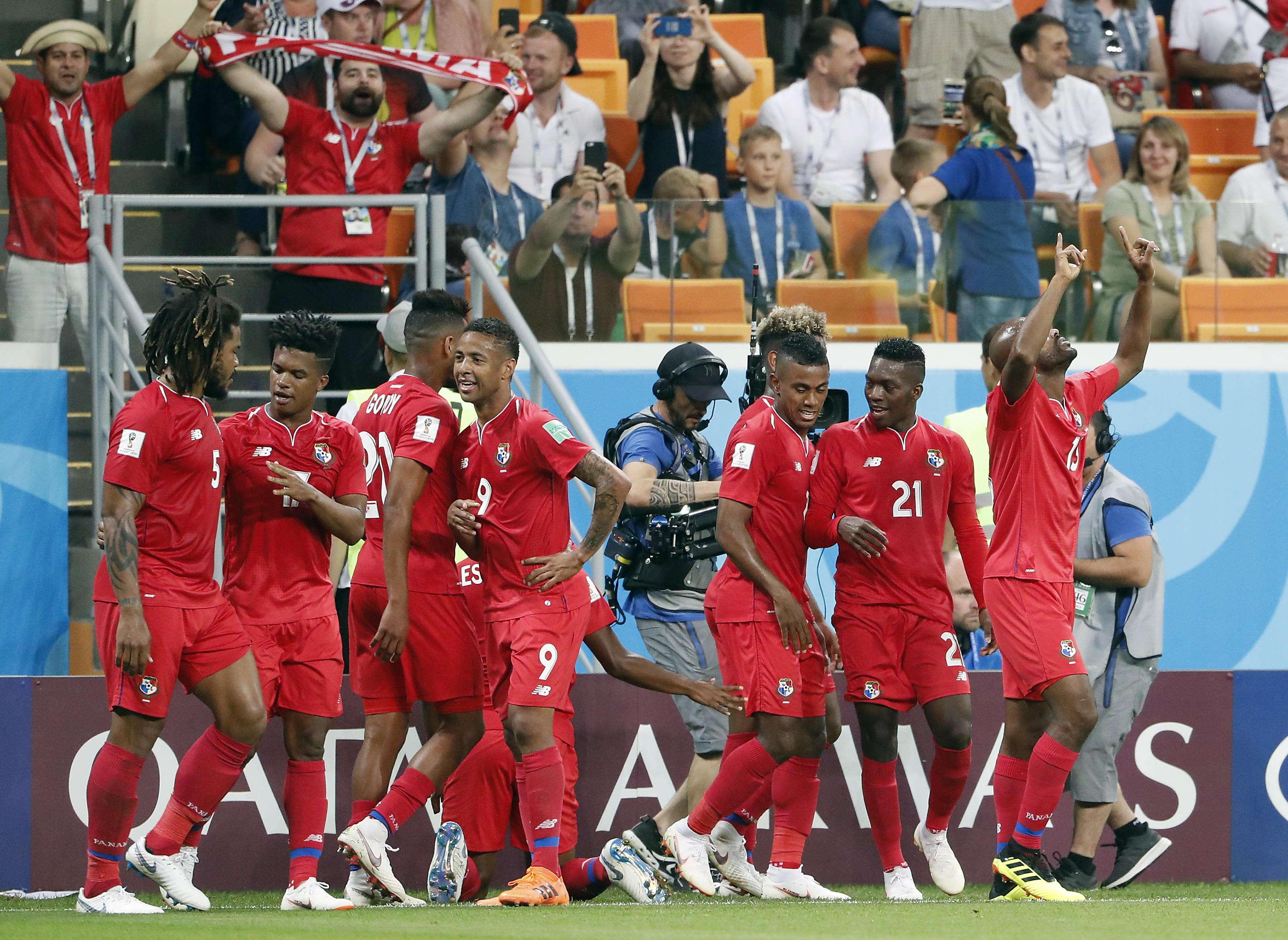 La selección de Panamá participó de su primer mundial. Foto: EFE