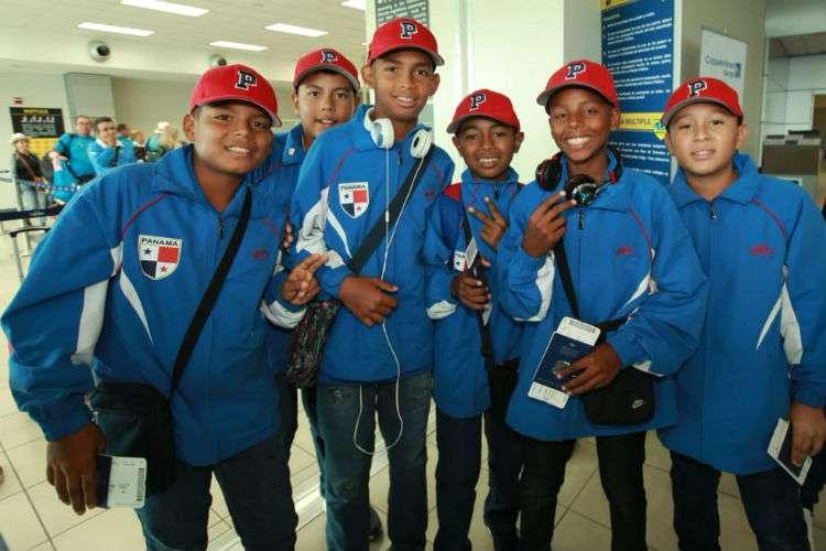 Algunos de los integrantes del equipo de Panamá previo al viaje a Estados Unidos. Foto: Anayansi Gamez