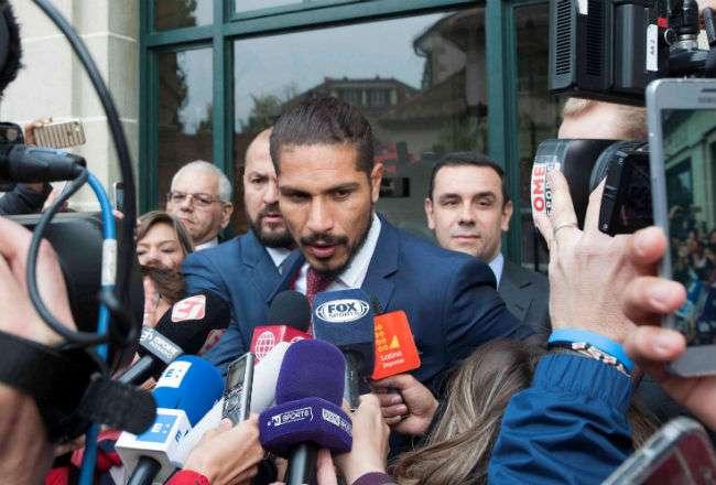 El jugador Paolo Guerrero. Foto: AP