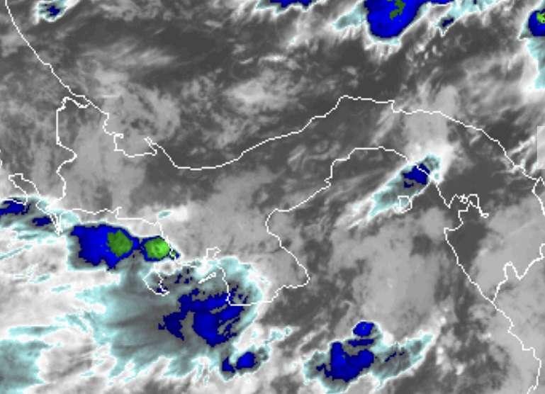 Se esperan lluvias de moderadas a fuertes en horas de la mañana.