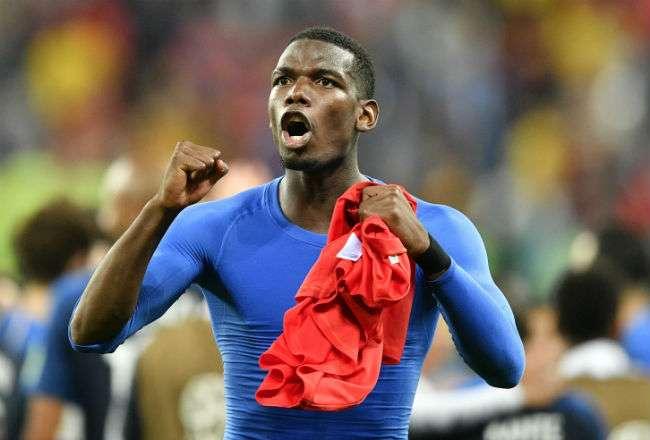 El jugador  Paul Pogba. Foto:AP