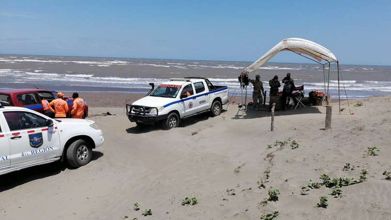 Se trata de la primera muerte por inmersión en las playas santeñas en lo que va del 2021.