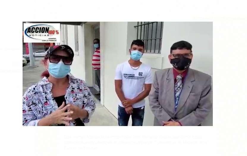 El abogado y su representado, Miguel Almanza indican que la demanda será por daños y perjuicios