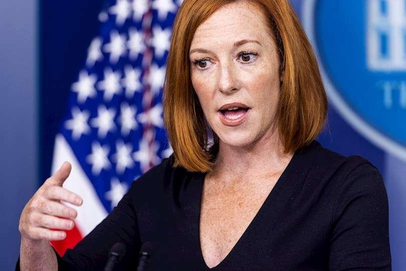 La portavoz de la Casa Blanca, Jen Psaki, en una fotografía de archivo. EFE