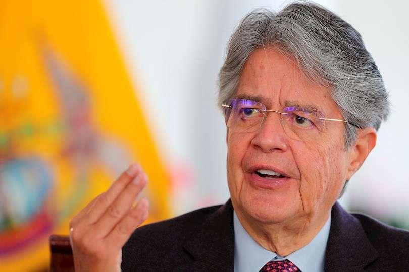 Imagen de archivo del presidente de Ecuador, Guillermo Lasso. EFE