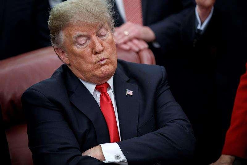 En la imagen el presidente de EE.UU., Donald Trump. EFE