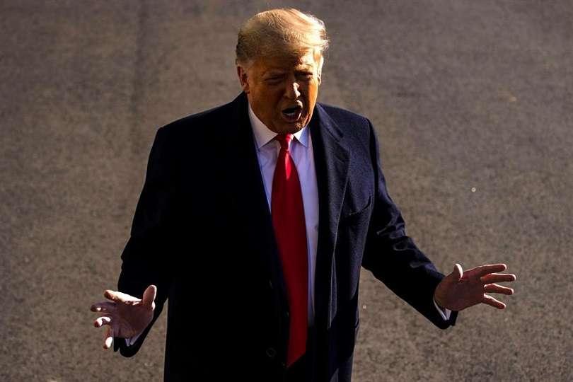 presidente de Estados Unidos, Donald J. Trump. EFE