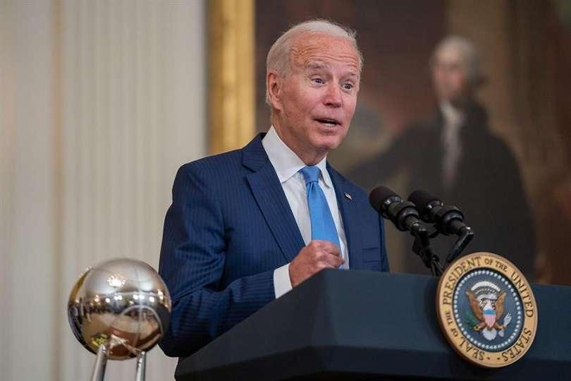 En la imagen el presidente de Estados Unidos, Joe Biden. EFE