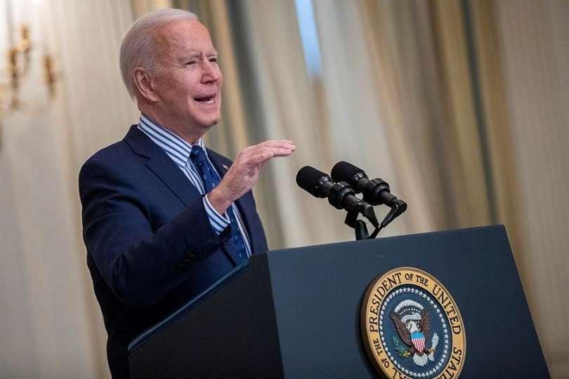 En la imagen, Joe Biden, presidente de Estados Unidos. EFE