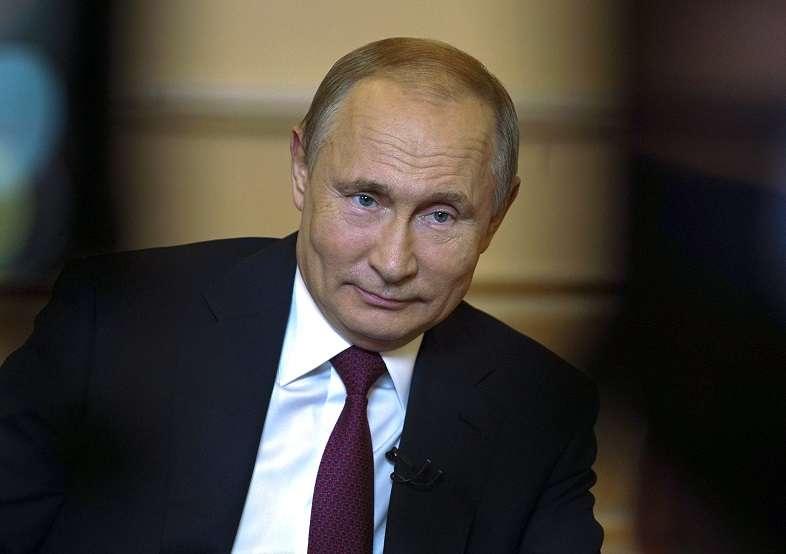 En la imagen el presidente ruso Vladimir Putin. AP