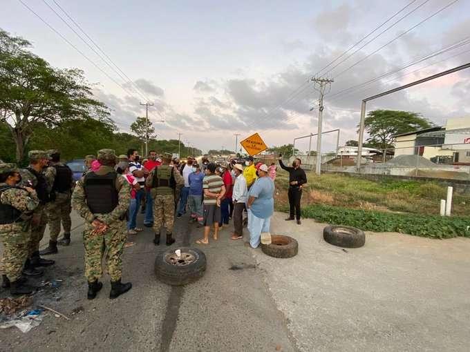 Protesta en Chepo contra invasores de tierra.