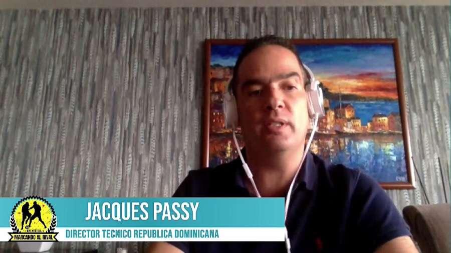 Jacques Passy, técnico de la República Dominicana.