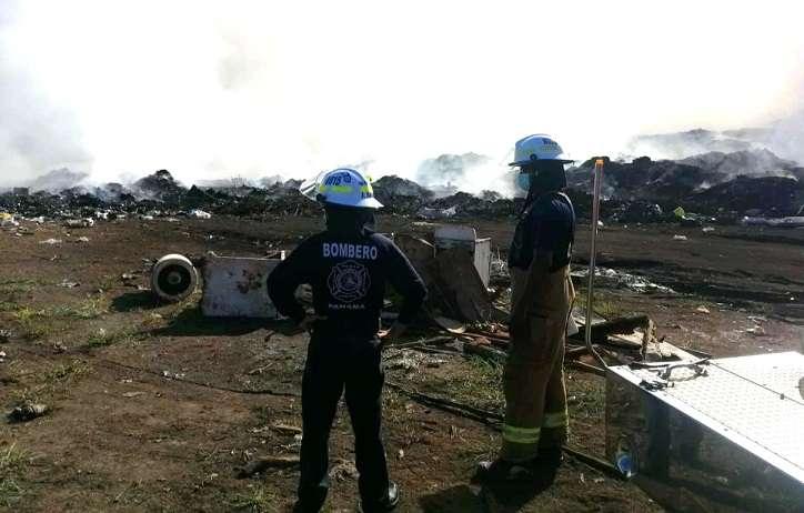 En la última semana, al menos tres vertederos se incendiaron.