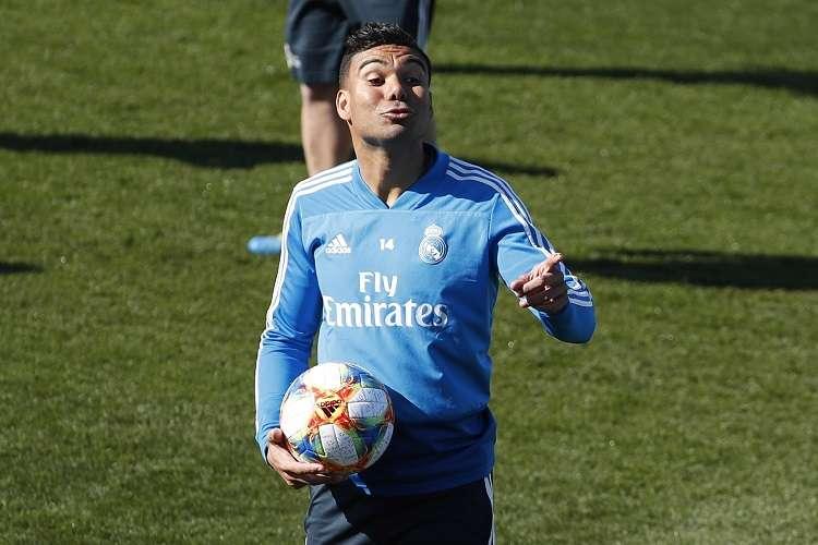 El centrocampista brasileño prefirió no recordar a CR7 cuando le preguntaron por la falta de pegada del Real Madrid. Foto: EFE
