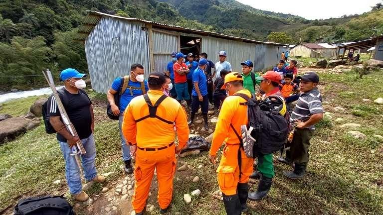 Los Grupos de Búsqueda recuperaron el cuerpo de un menor de 3 años en el sector de Tolote en Kankintú.