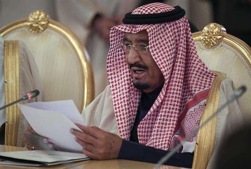 En la imagen el rey de Arabia Saudí, Salman bin Abdelaziz.  EFE