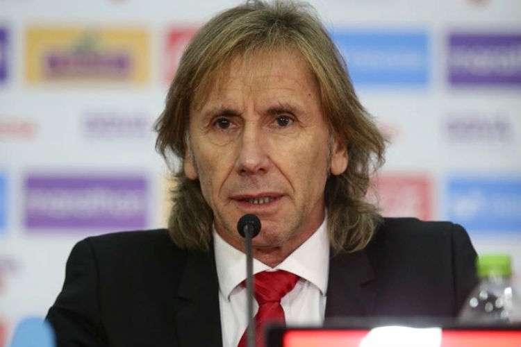 Ricardo Gareca dirigió a Perú en el Mundial de Rusia 2018.