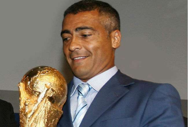 El exfutbolista brasileño Romário de Souza Faria.
